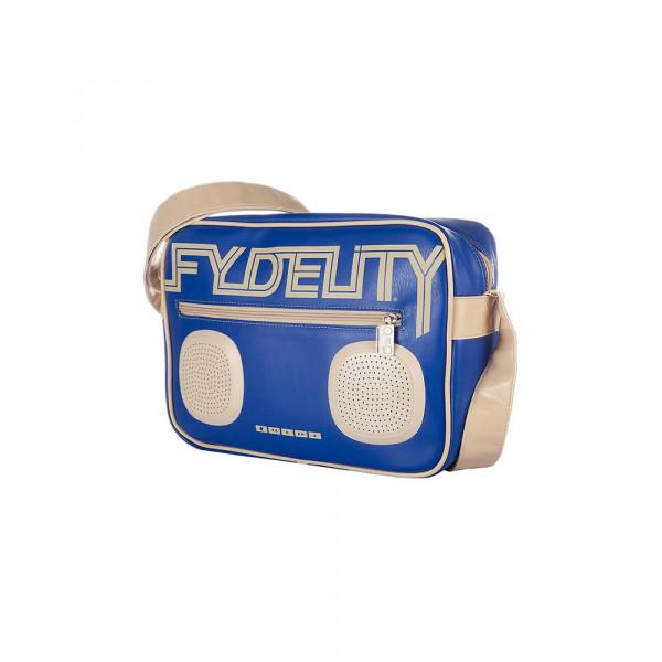 Fydelity Namesake G-Force Shoulder Bag blue