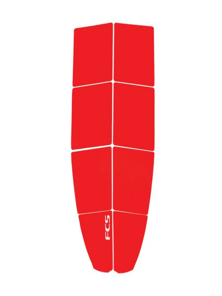 FCS SUP Traction Pad Grip Dimples engine red