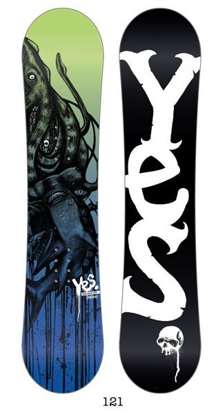 YES Pick Your Line Mini Kids Snowboard 2013/2014