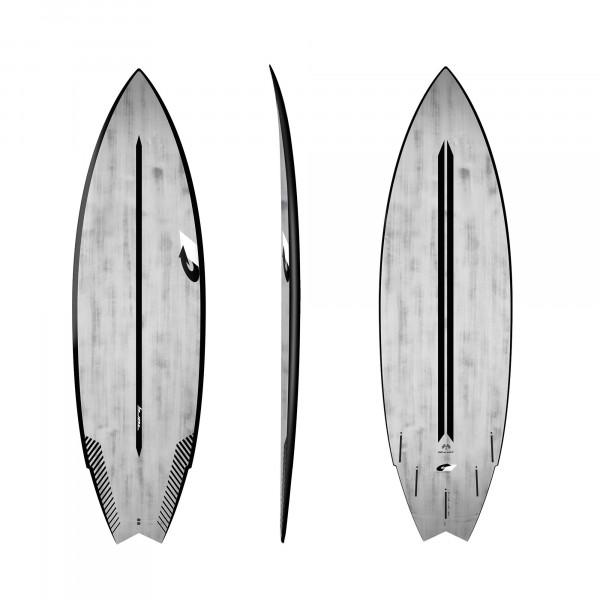 Surfboard TORQ ACT Prepreg Go-Kart 5.10 BlackRail