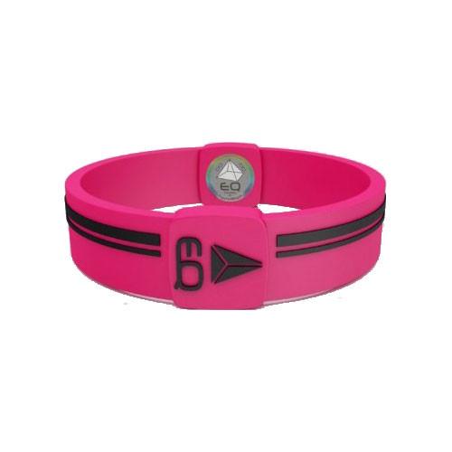 EQ - Hologramm Armband pink/black