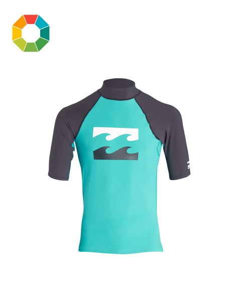 Billabong Team Waves SS Kids Rashguard