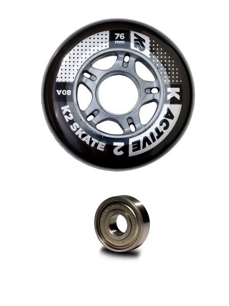K2 76 mm Active Wheel 8er Pack / ILQ 5