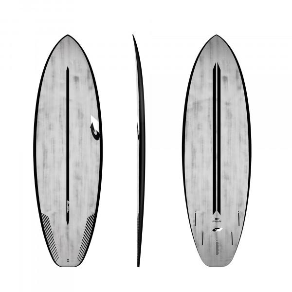 Surfboard TORQ ACT Prepreg PG-R 5.10 BlackRail