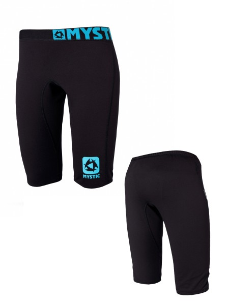 Mystic Bipoly Thermo Shorts S/S Women black