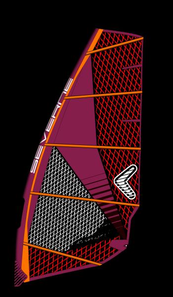 Severne Convert Rubine Windsurf Segel
