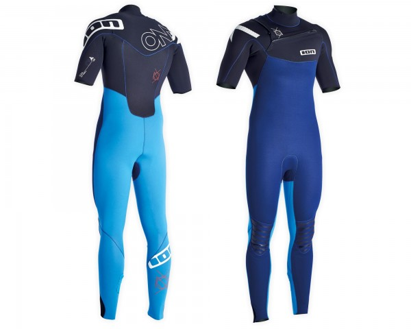 ION Onyx Steamer SS 3/2 DL Wetsuit black/blue