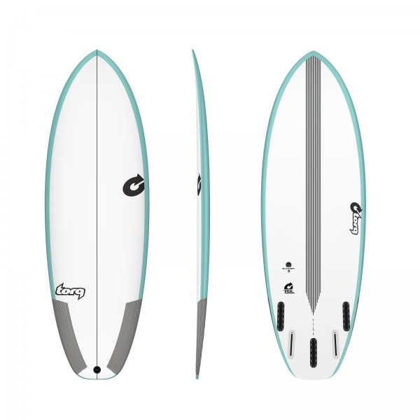 Surfboard TORQ Epoxy TEC Summer 5 5.4 Rail Grün