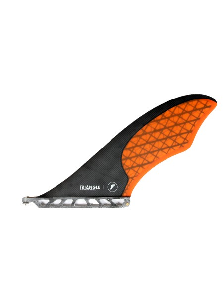 Futures Fins SUP Triangle Cutaway small carbon/orange