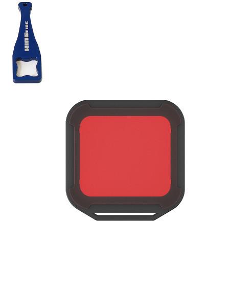 PolarPro Rot Filter für GoPro Hero5 black / Hero6 zum Tauchen mit Kingtide Aluminiumschlüssel