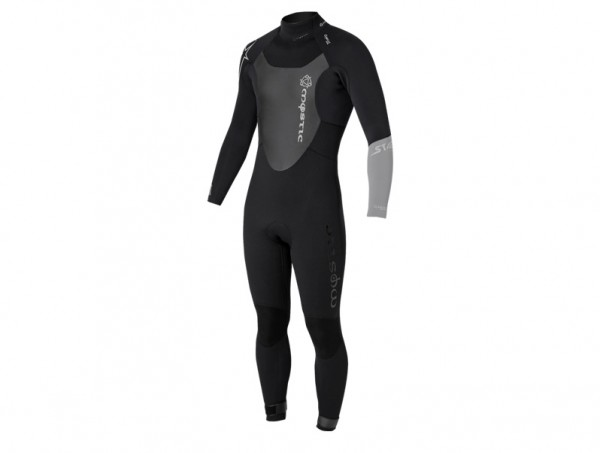 Mystic Star 5/4 D/L Fullsuit Junior black **B-Ware**