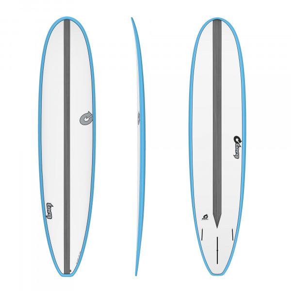 Surfboard TORQ Epoxy TET CS 8.6 Long Carbon Blue