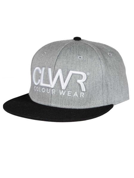 Colour Wear CLWR Cap grey melange
