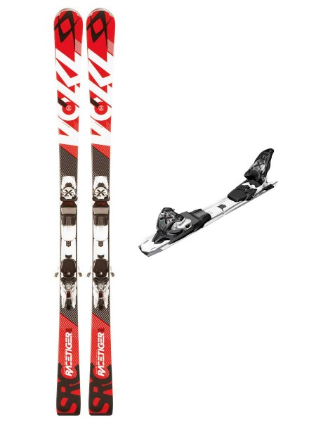 Völkl Racetiger SRC Ski Red 163 cm + Marker Xmotion 11.0 D Bindung