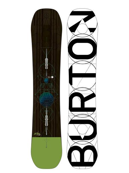 Burton Custom Flying V Wide Snowboard 2018