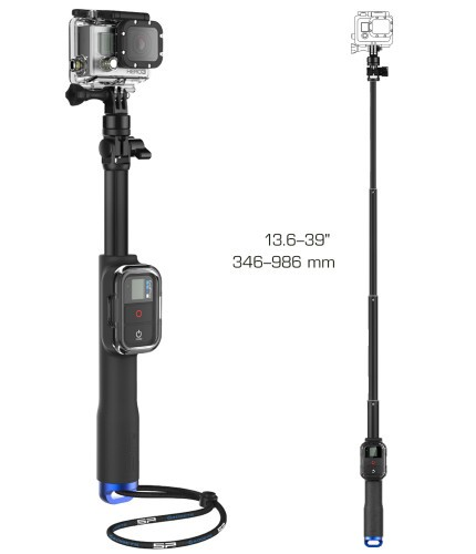 "SP POV Remote Pole 39"" - GoPro Teleskopstativ inkl. Remotehalterung **B-Ware**"