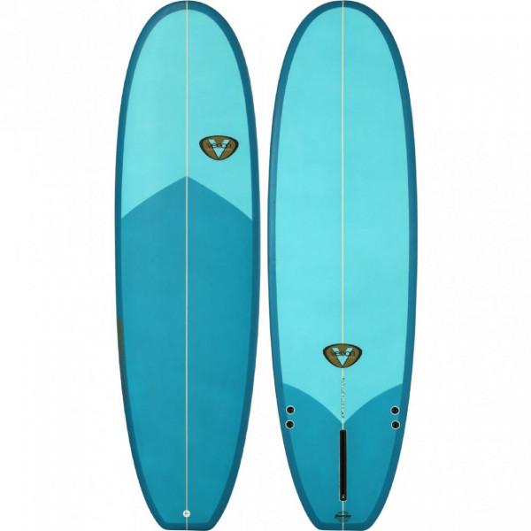 Surfboard VENON 6.6 Evo Blau Polyester