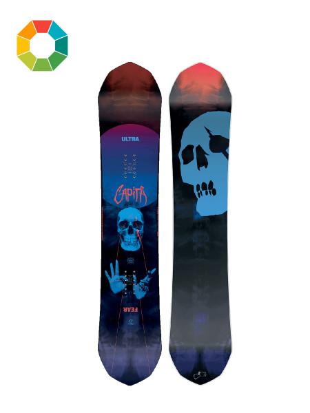 Capita Ultrafear Wide Snowboard 2018