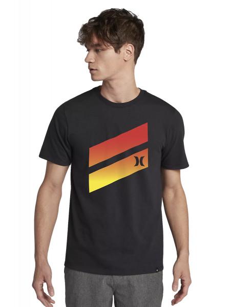 Hurley Icon Slash Gradient T-Shirt