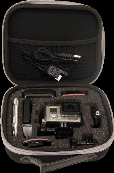 KINGTIDE Case for GoPro & Actioncam Size M