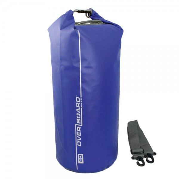 OverBoard wasserdichter Packsack 40 Liter Blau