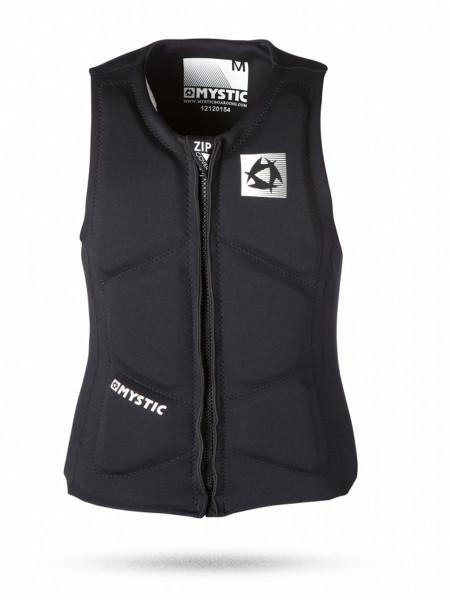 Mystic Brand black FrontZip Wakeboardweste