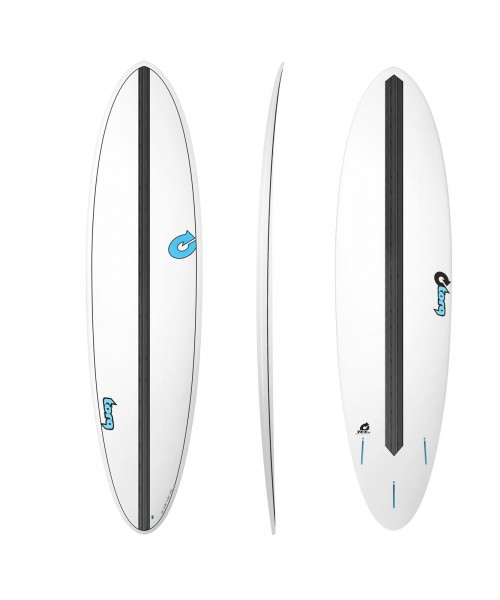 Surfboard TORQ Epoxy TET CS 7.2 Funboard Carbon