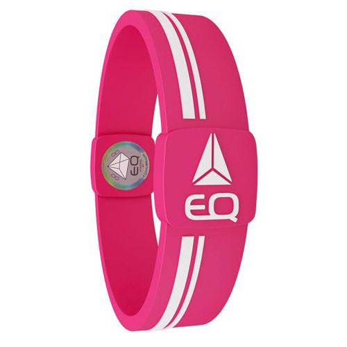 EQ - Hologramm Armband pink/white