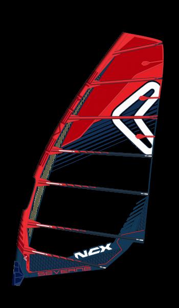 Severne Ncx Cc1/Rot-Blau Windsurf Segel
