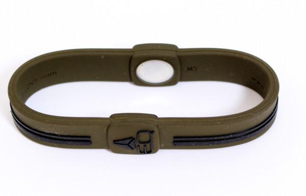 EQ - Hologramm Armband MC khaki