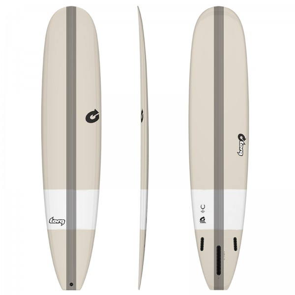 Surfboard TORQ Epoxy TEC The Horseshoe 9.0 Stone