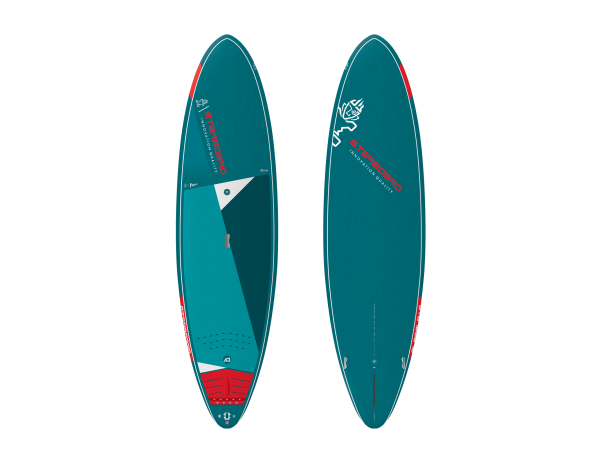 """Starboard Wedge 8'7"""" Blue Carbon SUP"""