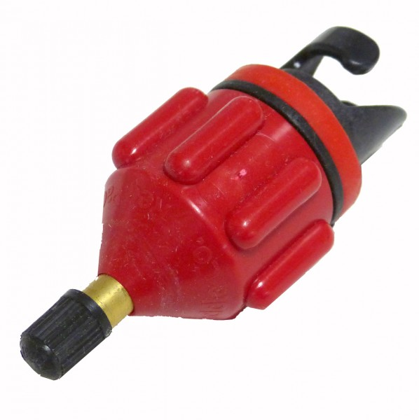 Red Paddle Schrader Valve Adaptor - Autoventil Adapter