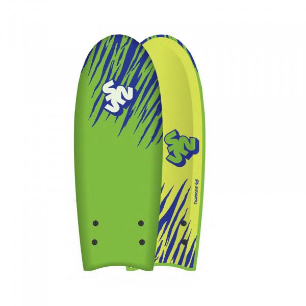 SurfnSun Surfboard Softboard EPS Tigersquid 4.6