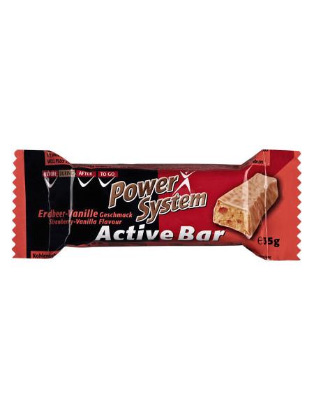 PowerSystem Active Bar Strawberry Vanilla Riegel
