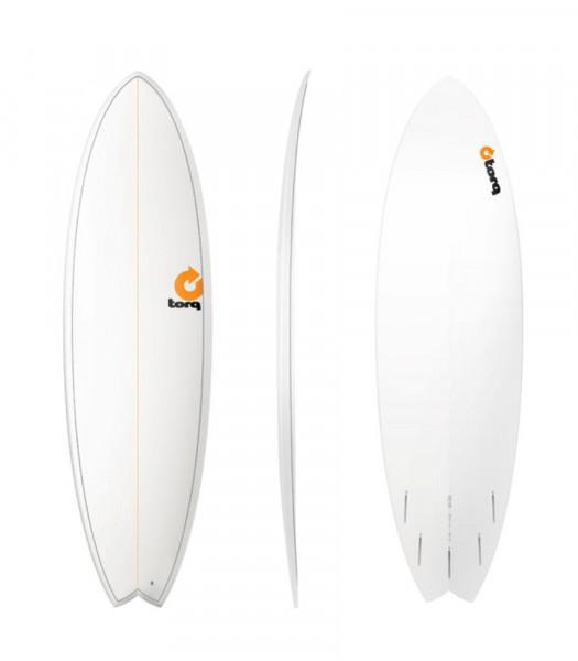"""TORQ Epoxy TET 6'3"""" Fish Pinlines Surfboard"""