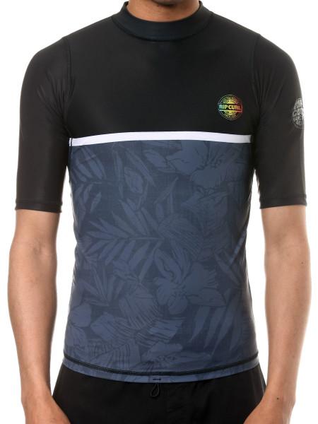 Rip Curl All Over black Rashguard Shirt