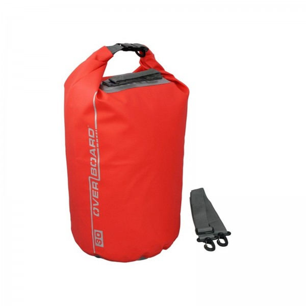 OverBoard wasserdichter Packsack 30 Liter Rot