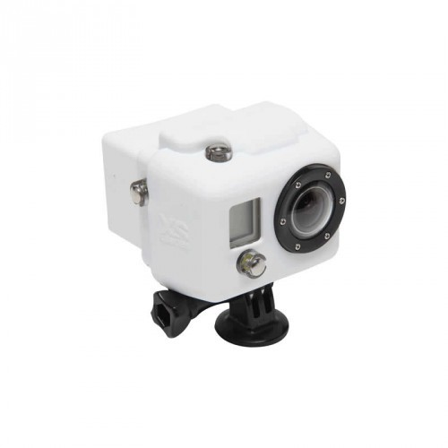 XSories Hooded Silicon Cover GoPro HD1 + 2 - white