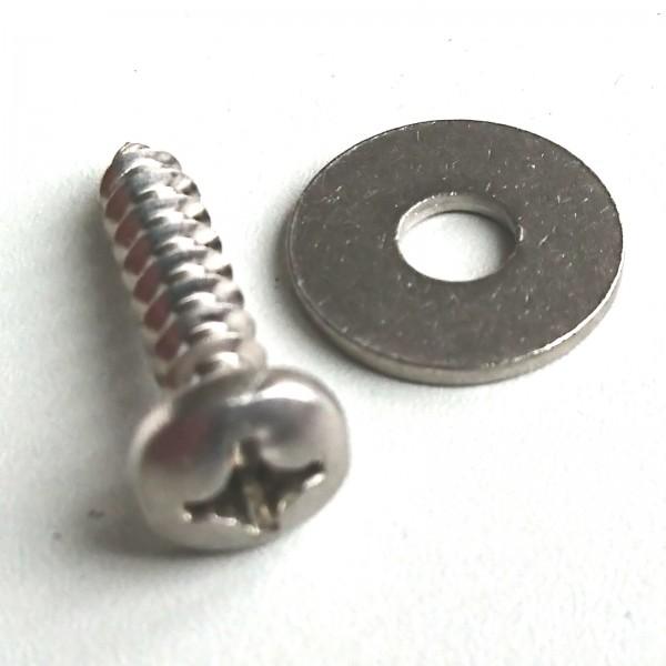 Schraube für Fußschlaufe 5,5 x 25 mm V2A