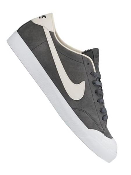 Nike SB Air Zoom All Court CK anthracite/phantom - white - black