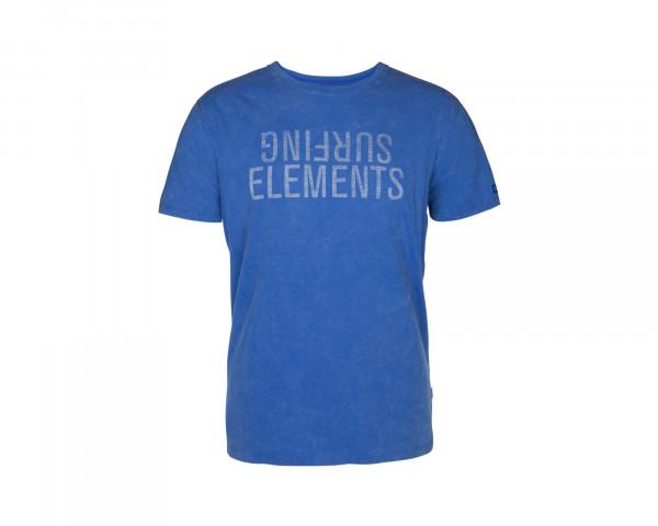 ION Surfing Elements T-Shirt turkish blue