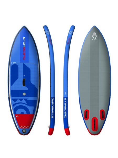 """Starboard 8'0"""" Surf Deluxe DC iSUP 2018"""