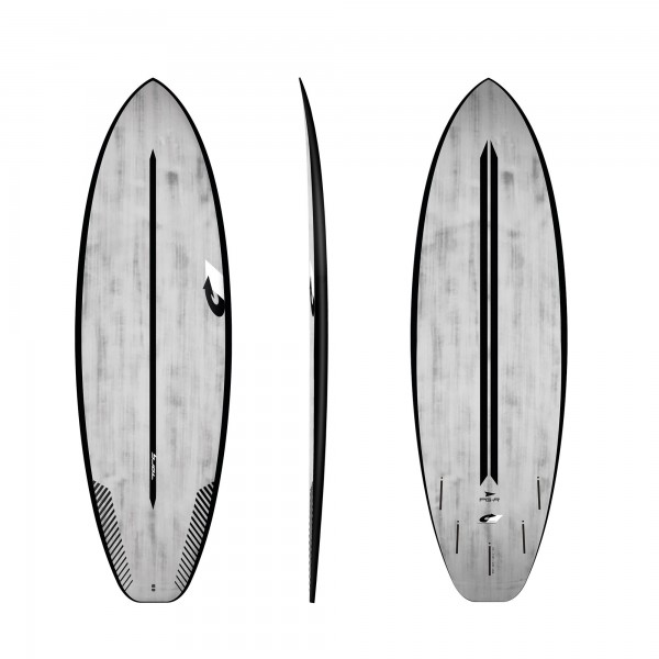 Surfboard TORQ ACT Prepreg PG-R 5.6 BlackRail