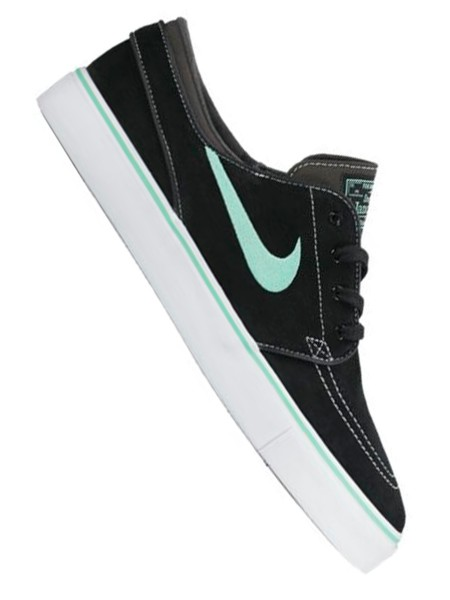 Nike SB Zoom Stefan Janoski black/green glow - anthracite - white