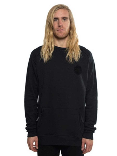 Colour Wear Park Crew Sweater black