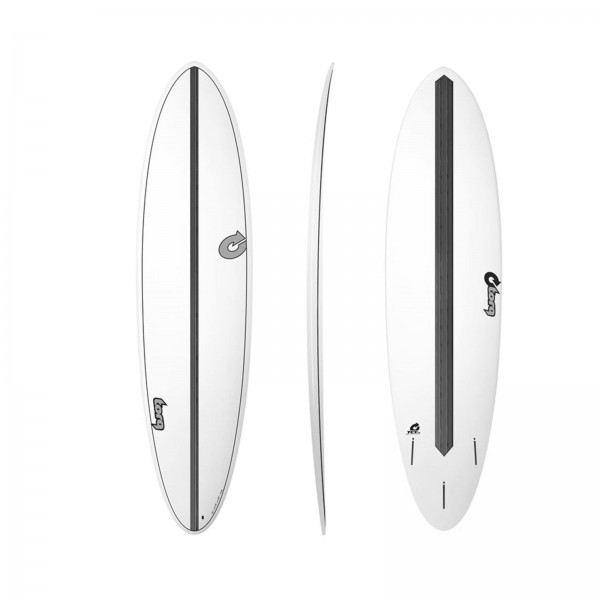 "TORQ Epoxy 7'2"" TET CS 7.2 Funboard Carbon Surfboard"