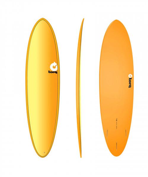"""TORQ 7'2"""" Epoxy TET Full Fade Surfboard"""