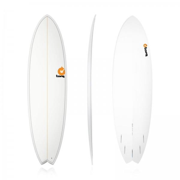 Surfboard TORQ Epoxy TET 6.10 Fish Pinlines