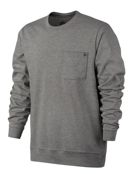 Nike Men´s SB Top Pullover dk grey heather